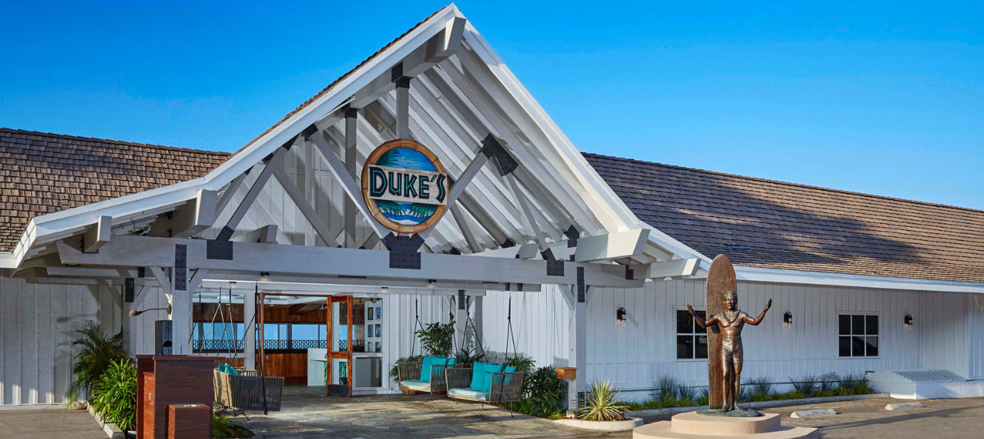 Entrance to Duke's