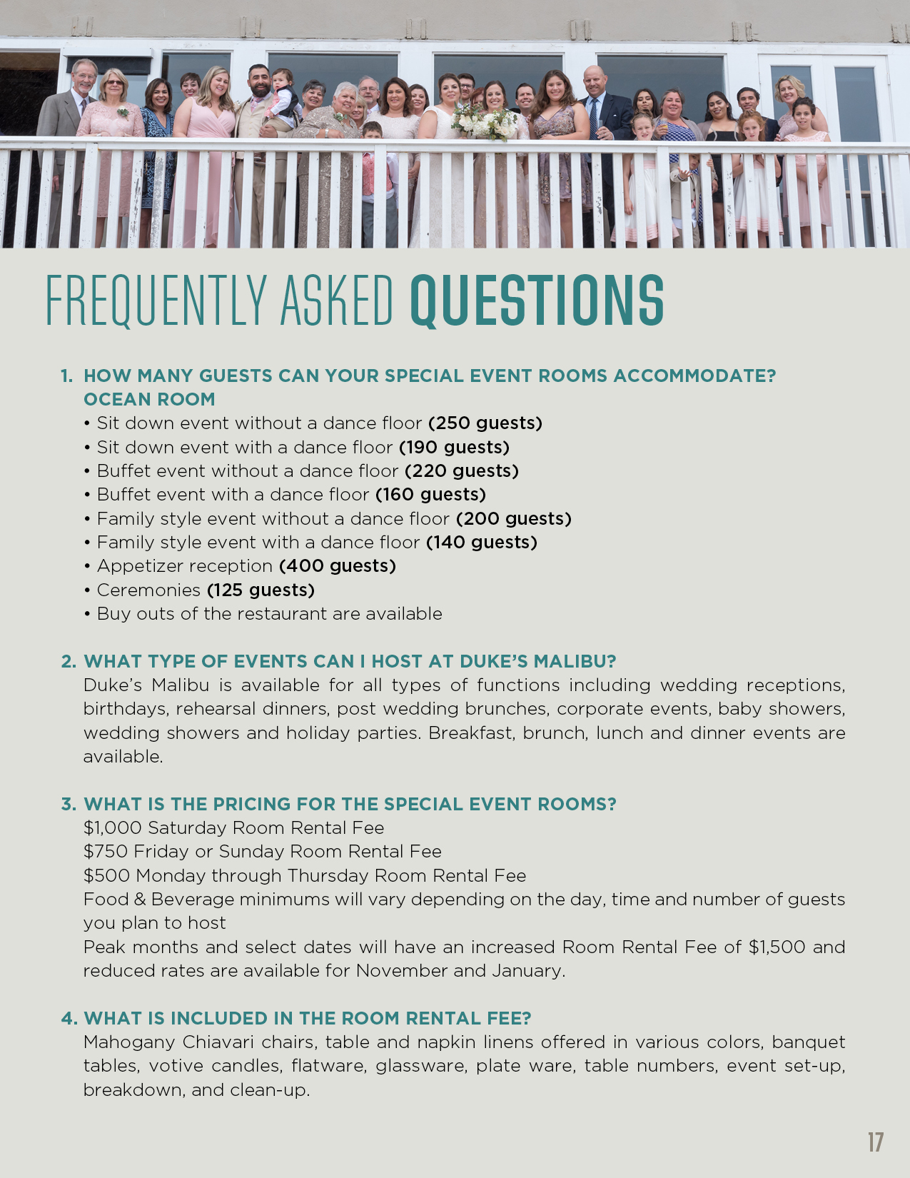 Event frequently asked questions